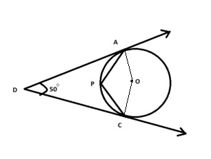 in the given figure o is the centre of the circledetermine