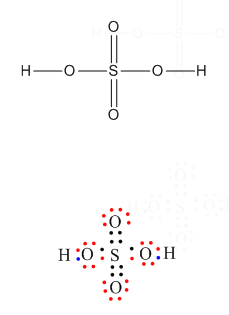 Lewis Structure Of H2s : lewis, structure, Lewis, Structure, Explanation, H2so4, Chemistry, TopperLearning.com, Dpr163cc