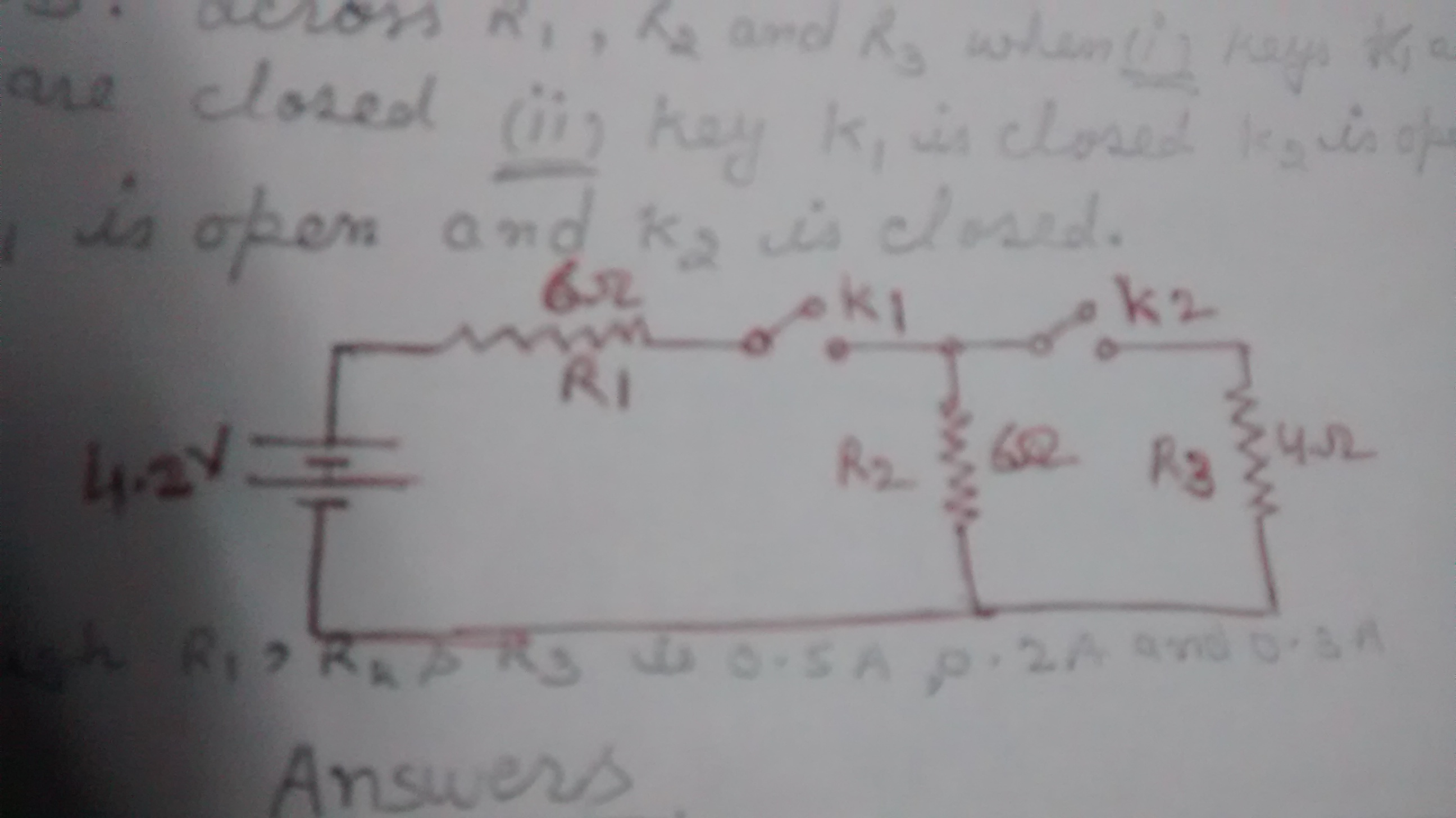 A Circuit Is Set Up As Shown In The Figure Calculate The