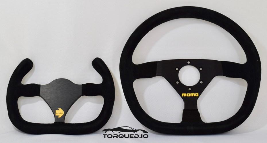 MOMO MOD 12/C & MOD 88 steering wheels