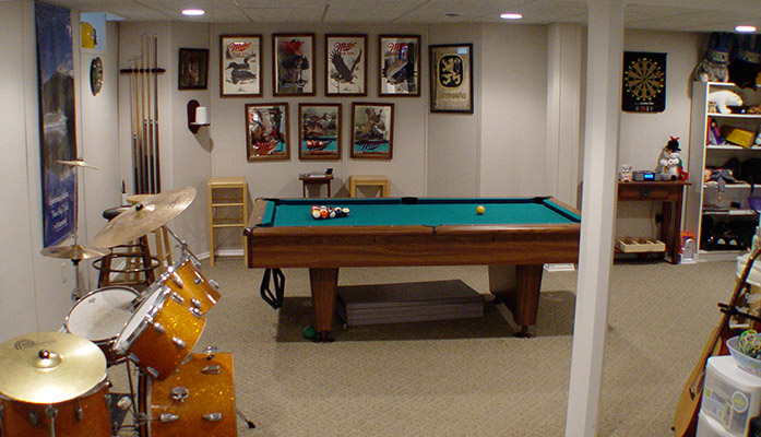 Basement Game Room Ideas on How to Convert Your Basement Into a Game Room