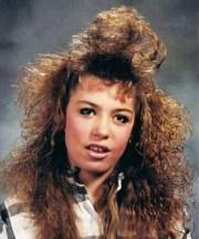'80s hair woke
