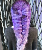 braided beauty 21 lavender hair