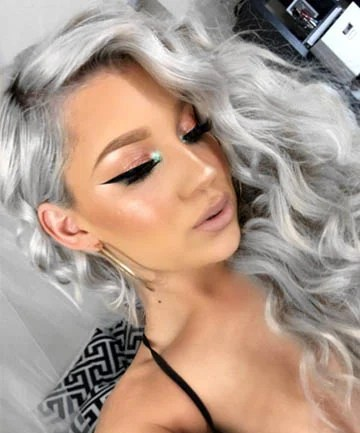These Are The Silver Hair Looks Of Your Dreams Grey Hair