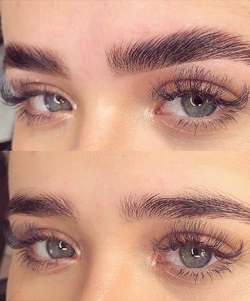 Curly Eyebrows : curly, eyebrows, People, Choosing, Lamination, Microblading, (Page