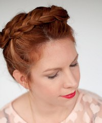 The Crown Braid Cheat for Short Hair , 17 Ridiculously ...