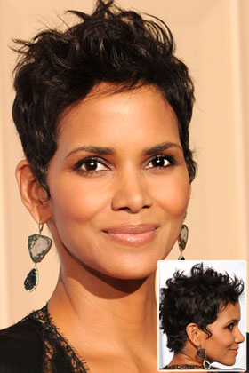 Oval Halle Berry Best Curly Hairstyles For Your Face