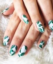 tropical nails 27 cute nail design