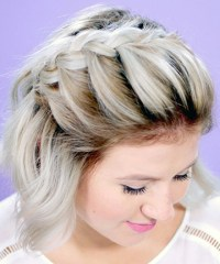 French Braid For Short Hair, 25 Pretty French Braid ...