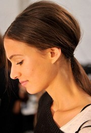 tousled ponytail 8 gorgeous hairstyles