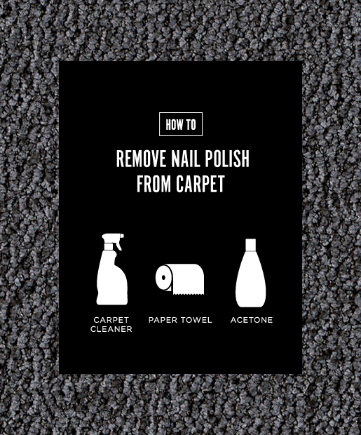 Nail Polish Puddle