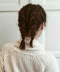 French Braided Pigtails, 11 Surprisingly Easy Braids For ...