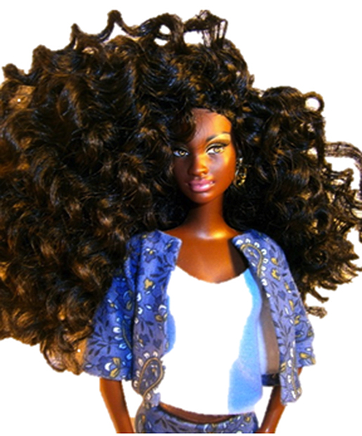Barbie Gets A Real Hair Makeover