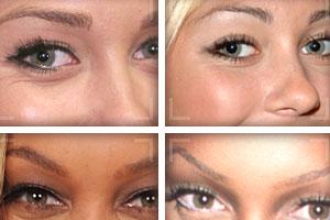 Celebrity Eyebrow Makeovers