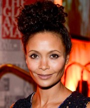 natural hairstyles - celebrity