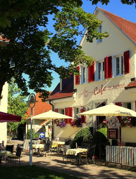 Cafe am Rathaus  Urlaubsland BadenWrttemberg