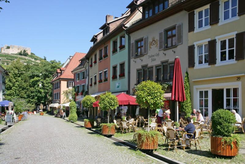 Caf Faller  Urlaubsland BadenWrttemberg