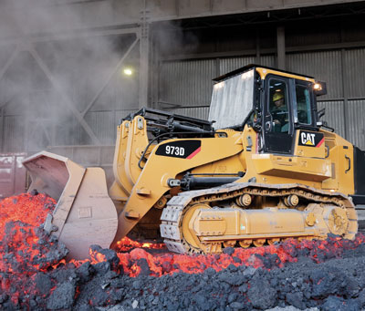 New features make the cat 973d track loader more powerful the 973d is a one machine workforce with the features to take on the toughest jobsat construction sites or in the harsh environments of steel mills publicscrutiny Choice Image
