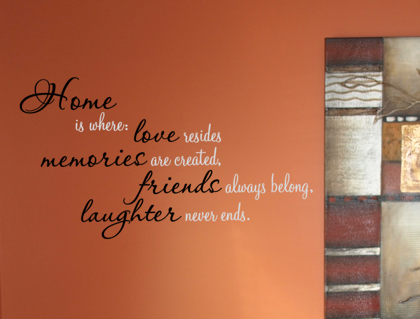 Home Love Memories  Wall Decals  Trading Phrases
