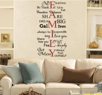 Family Words Wall Decals - Trading Phrases
