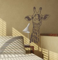 Smiling Giraffe | Wall Decals - Trading Phrases