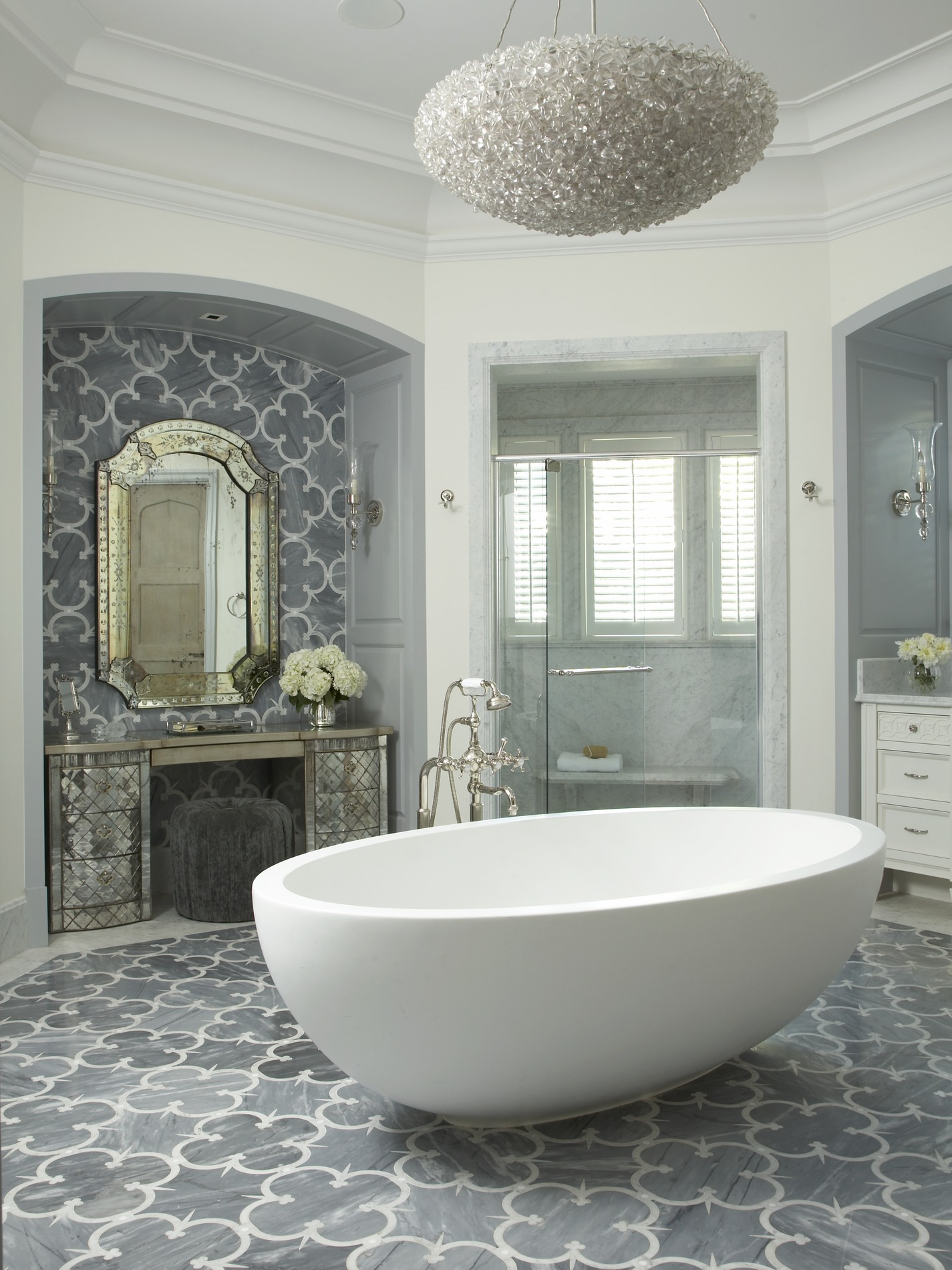 Bathroom Glamorous Florida Bathroom Traditional Home