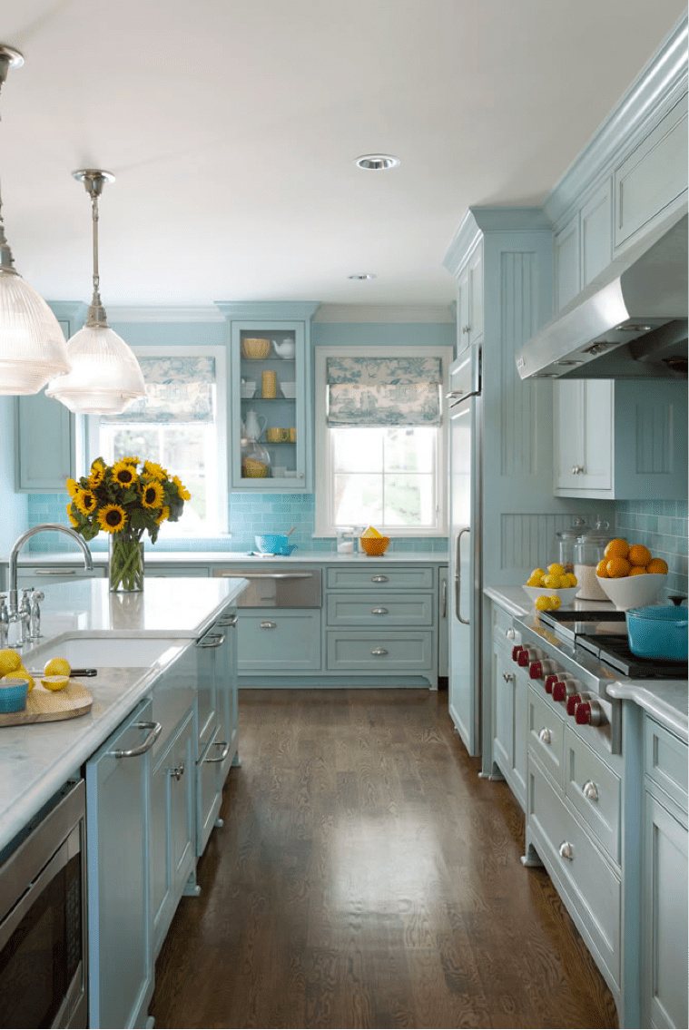 Tobis 4 Favorite Kitchen Colors  Traditional Home
