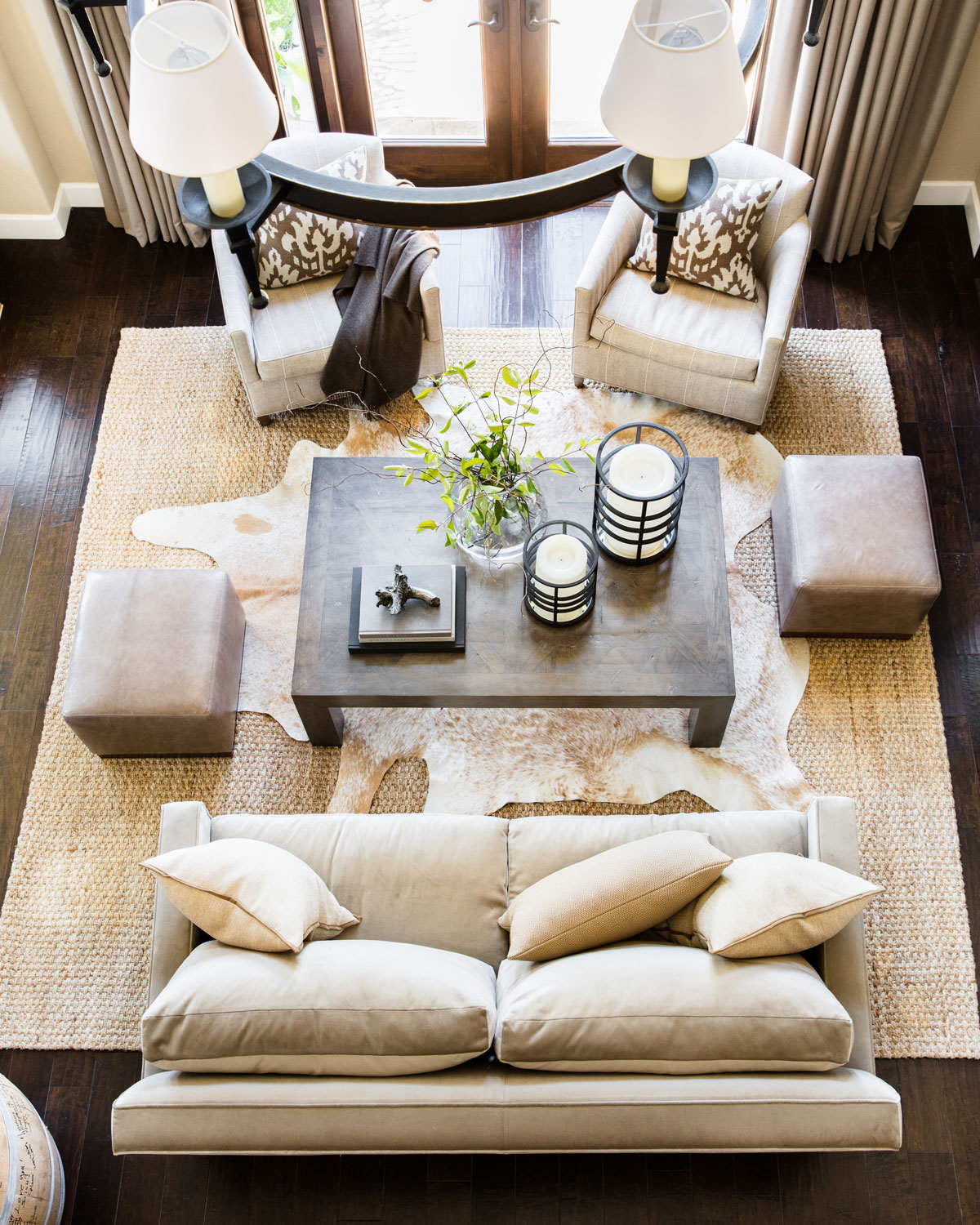 wine country living room clean home dressed in neutrals traditional the gracious is ideal for entertaining two separate seating areas create intimate spaces immediate family to gather but provide easy flow