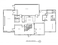 Kitchen Floor Plans: Before and After | Traditional Home