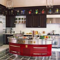 Colored Kitchen Islands German Made Cabinets Colorful Kitchens With Charisma Traditional Home Enlarge