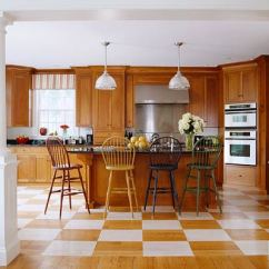Oak Cabinets Kitchen Spatula Elegant Kitchens With Warm Wood Traditional Home Stately White Pillars Frame A View Of This Massachusetts Whose Homeowner Was Looking For Sophisticated Casual Style Limited