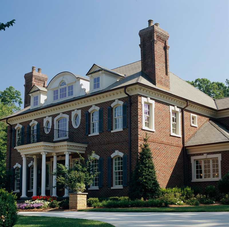 Get The Look Georgian Style Architecture Traditional Home