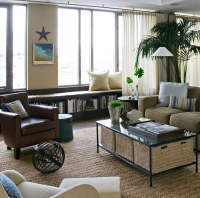 Living Room Without Windows Decorating Ideas. a living ...