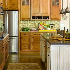 Kitchen Cabinets Color Green Apple Decor Elegant Kitchens With Warm Wood Traditional Home Enlarge