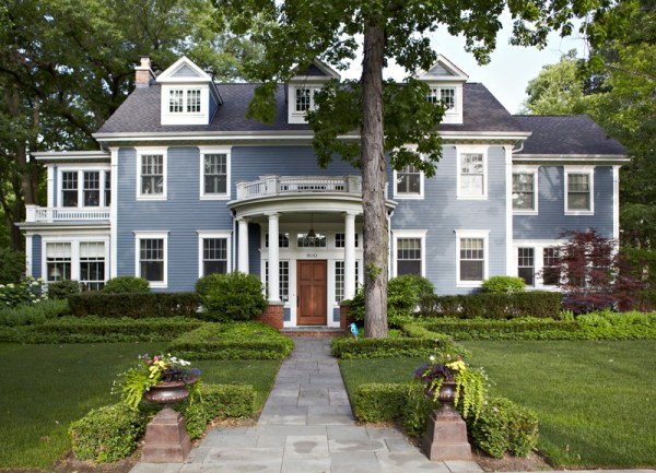 classic home filled with art &