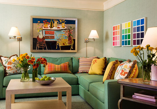 color for living rooms interior designs with vaulted ceilings colorful traditional home multi room