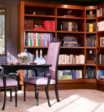 Traditional Home Library Design Ideas