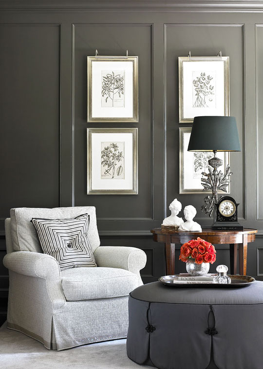 living room design with grey walls decor dark brown furniture decorating gorgeous gray rooms traditional home enlarge