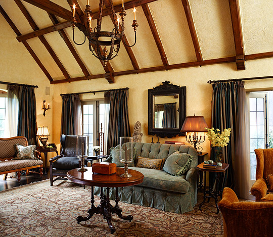 Old World Style For A Tudor Revival House Traditional Home
