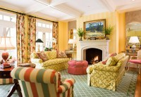 Colorful Living Rooms | Traditional Home