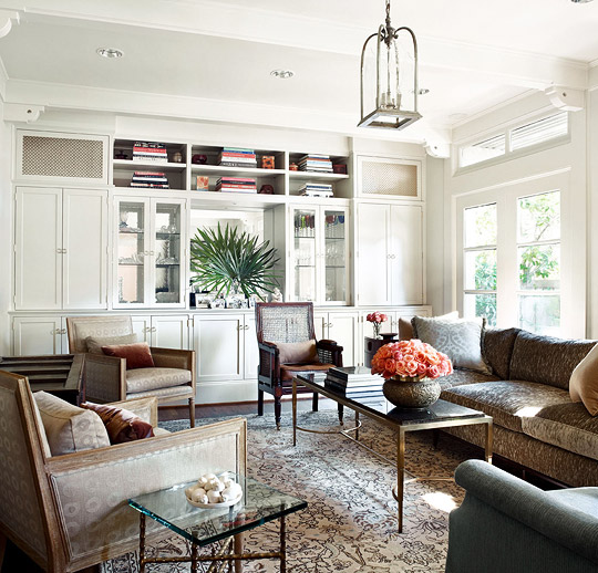 sofa dallas texas deep sofas for sale spanish colonial house with calm palette | traditional home