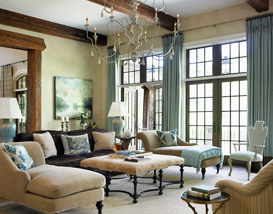 house interior decoration living room Decorating Ideas: Elegant Living Rooms | Traditional Home