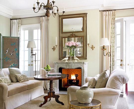 traditional living room ideas Decorating Ideas: Elegant Living Rooms | Traditional Home