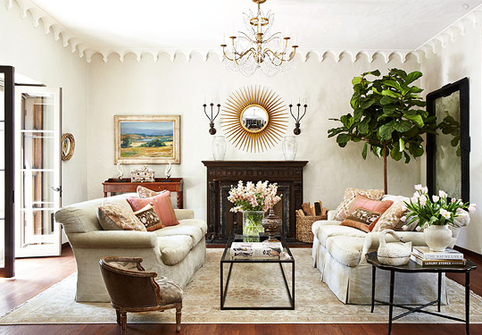 traditional living room ideas Decorating Ideas: Unique Living Rooms | Traditional Home