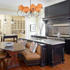 Eat In Kitchen Island Table Light 12 Great Ideas Traditional Home Enlarge