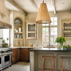 Country French Kitchens Kitchen Menu Chalkboard Traditional Home
