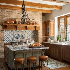 Country French Kitchens Kitchen Buffet With Hutch Traditional Home