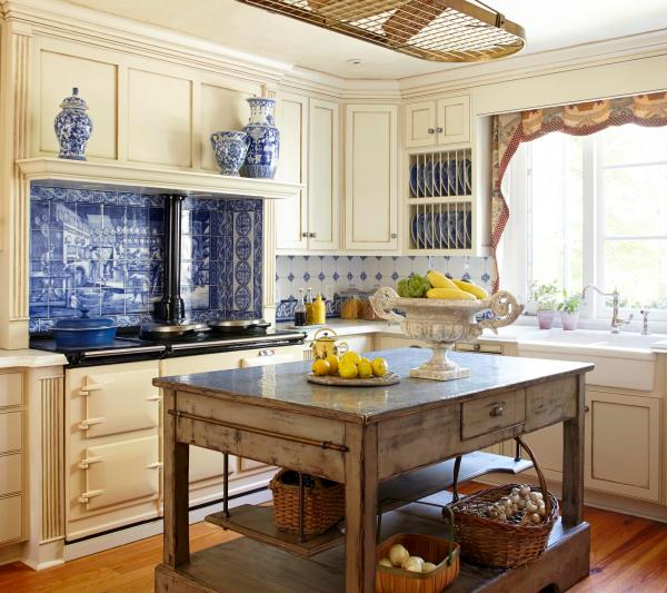 traditional country kitchen design Country French Kitchens | Traditional Home