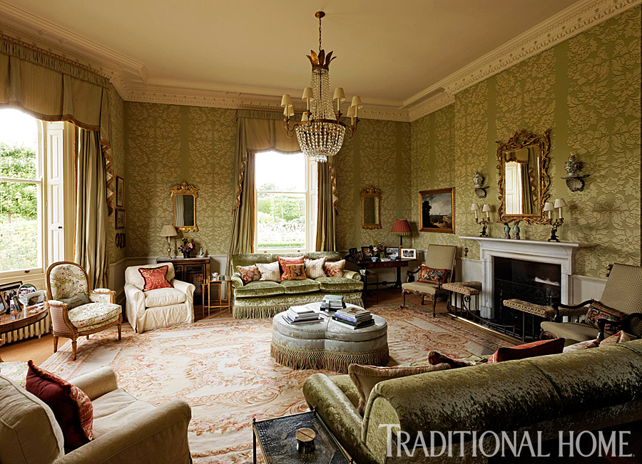 traditional english living room design 3 piece furniture sets before and after must see manor home enlarge francis hammond drawing