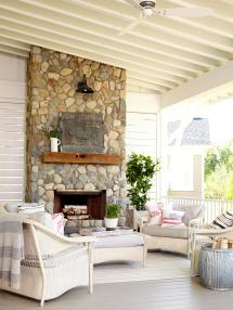 French Country Porches